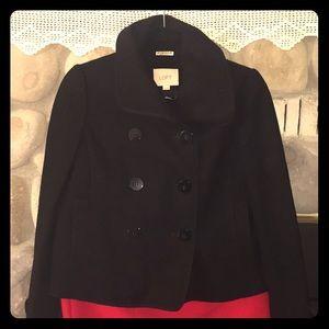 Cute crop pea coat!!!